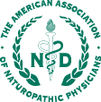 the american association of naturopathic physicians logo
